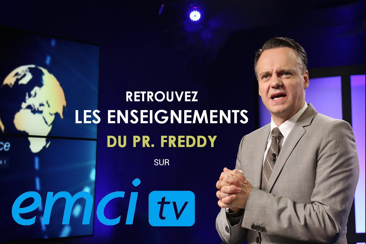 Freddy De Coster Enseignements sur EMCI TV